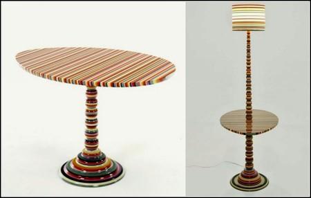 Яркие краски интерьера - мебель Hybrid Furniture от Marton & Alle. — фото 1