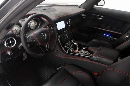 Mercedes SLS AMG и тюнинговые паруса Brabus-а — фото 3