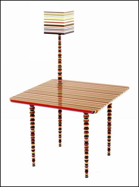 Яркие краски интерьера - мебель Hybrid Furniture от Marton & Alle. — фото 5