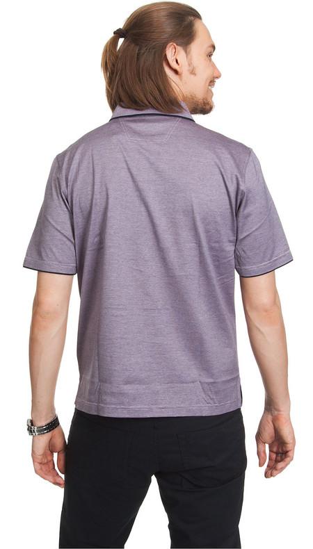 Мужской сиреневый цвет POLO, от Pierre Cardin. — фото 3
