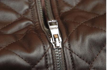 Кожаный жакет Браун от Gucci. — фото 5