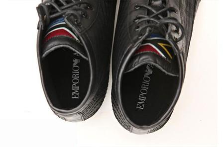 Ботинки Armani: валенки теплее...