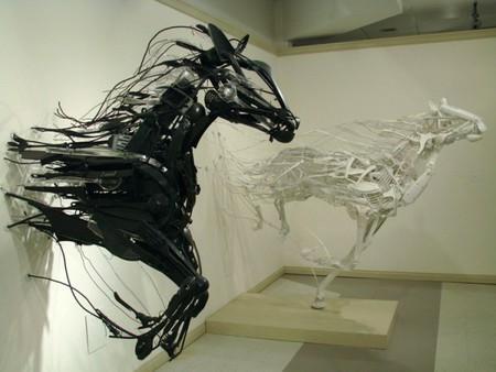Скульптуры Sayaka Kajita Ganz: преобразовывая в красоту… — фото 1