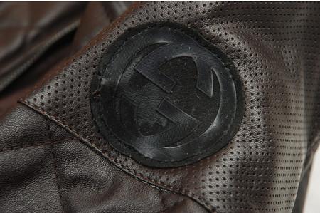 Кожаный жакет Браун от Gucci. — фото 4