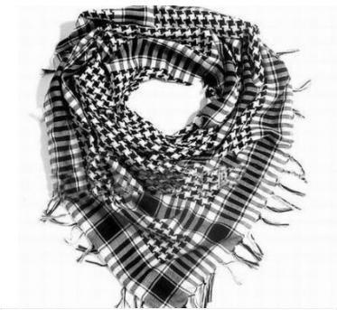 Арафатка - стильный платок для молодежи — фото 2