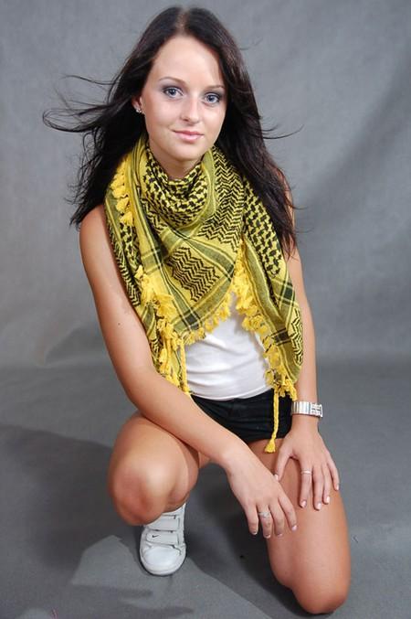 Арафатка - стильный платок для молодежи — фото 4