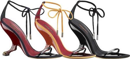 Изящные босоножки от Louis Vuitton — фото 1