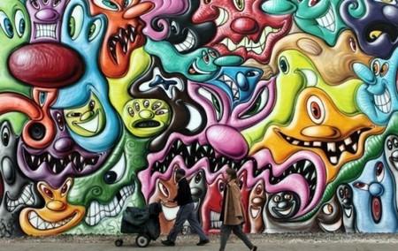 Граффити в дизайне – яркость повседневности — фото 7