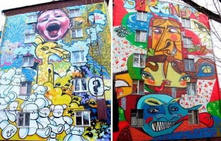 Граффити в дизайне – яркость повседневности — фото 4