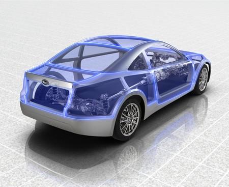 Subaru Sports Car Architecture: сапфирово – прозрачная мечта — фото 3
