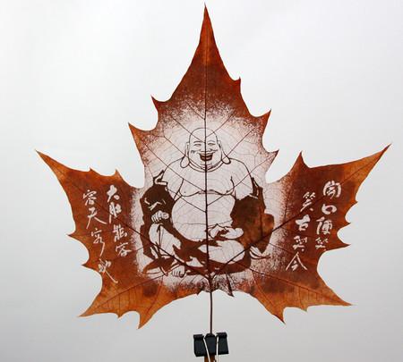 Листья клена как полотна для живописи — фото 2