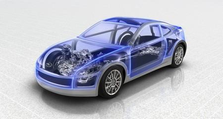 Subaru Sports Car Architecture: сапфирово – прозрачная мечта — фото 1