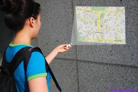 Maptor: мини-проектор с GPS-навигатором — фото 1