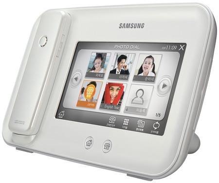 Samsung SP M 100: фоторамка для продвижения обычной телефонии — фото 1