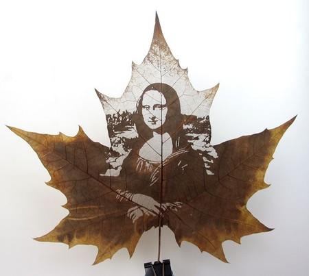 Листья клена как полотна для живописи — фото 3