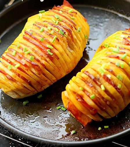 Печеный картофель с беконом — фото 1