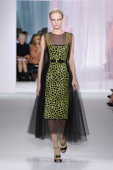 Женская коллекция Dior весна-лето 2013 — фото 28
