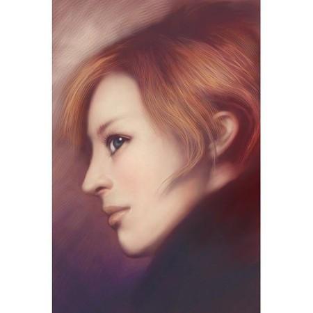 Сенсорные портреты – рисунки Сейко Ямаока на экранах iPod Touch и iPad — фото 7