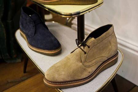 У бренда много замшевой обуви