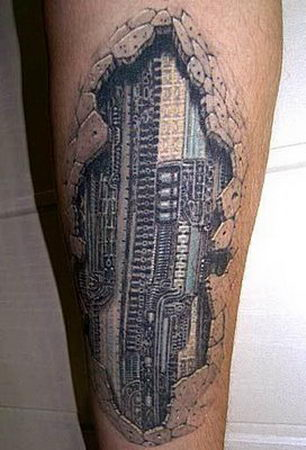 Татуировки в формате 3D – искусство или …? — фото 24