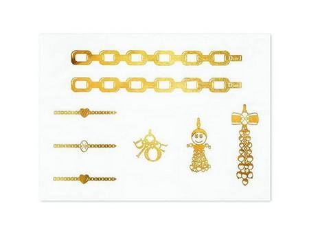 Драгоценные тату от золотого бренда Dior — фото 3