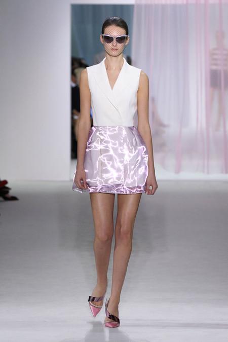 Женская коллекция Dior весна-лето 2013 — фото 17