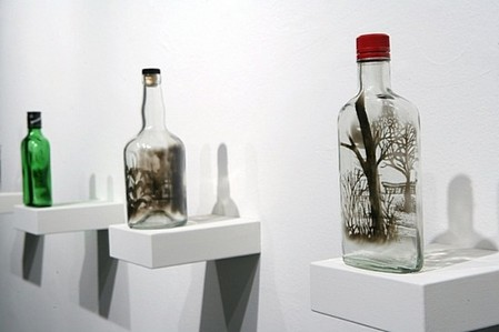 Дымный мир внутри бутылки – работы Джима Динджилиана — фото 11