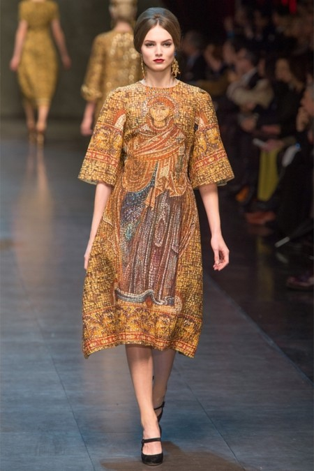 Dolce & Gabbana осень-зима 2013-2014 – когда всего слишком много — фото 9