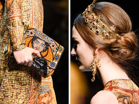 Dolce & Gabbana осень-зима 2013-2014 – когда всего слишком много — фото 120