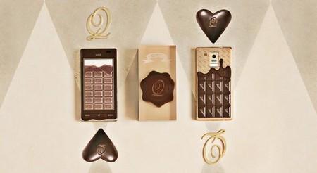 Было бы здорово, если бы телефон еще и пах, как настоящий черный шоколад ...
