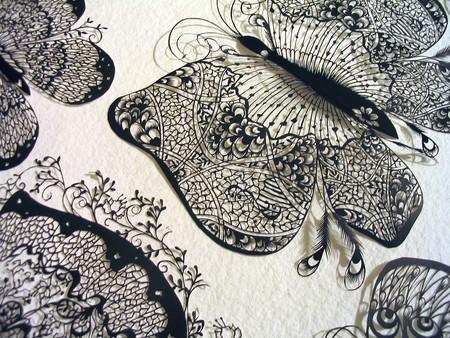 Кружева из бумаги – ювелирные работы Хины Аоямы — фото 14