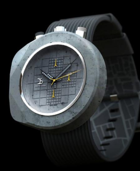 Бетонные часы для сильных и твердых — фото 8