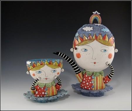 И снова о красивой керамике – посуда от Наталии Сотс — фото 10