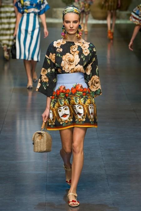 Сицилия от Dolce & Gabbana - женская коллекция весна-лето 2013 — фото 30