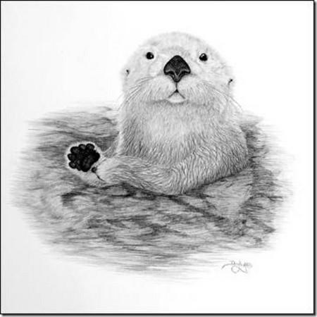 Рисунки карандашом … но не руками. Дуг Лэндис (Doug Landis) – необычный художник. — фото 7