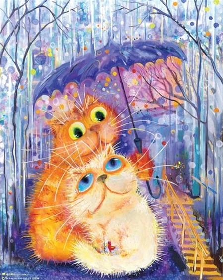 Коты и кошки Бориса Касьянова — фото 34
