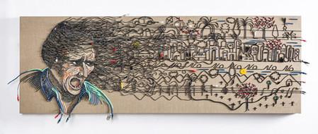 Яркие картины из кабелей от Федерико Урибе — фото 19