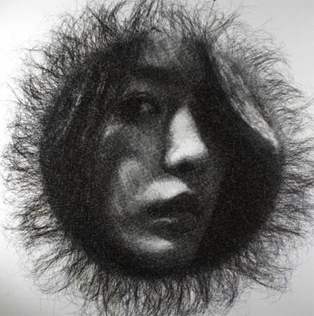Скульптор, работающий с проволочной сеткой – Сон Мо Парк — фото 7