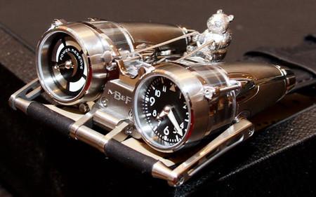 Роскошный нестандарт – часовые машины от MB&F — фото 10