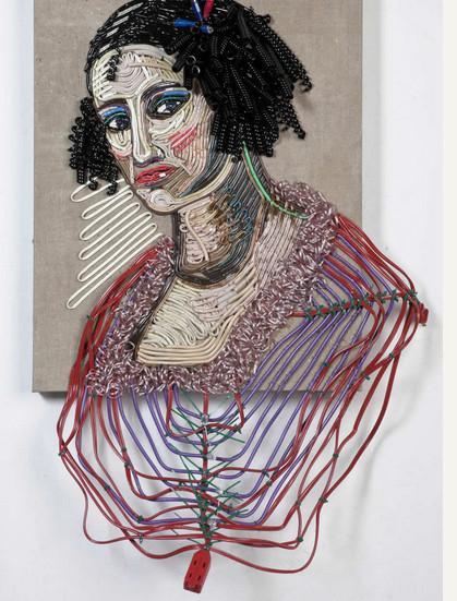 Яркие картины из кабелей от Федерико Урибе — фото 11