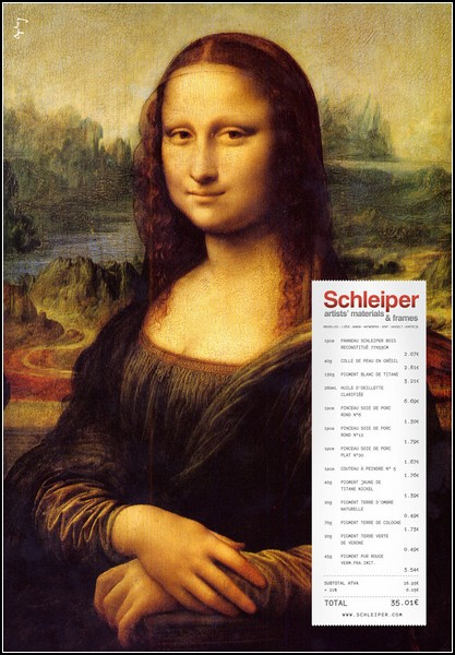 Улыбка Моны Лизы … на рекламных постерах. Новые идеи на вечную тему. — фото 6