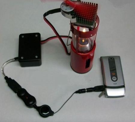Candle Powered USB Charger можно пользоваться и дома