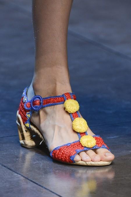 Сицилия от Dolce & Gabbana - женская коллекция весна-лето 2013 — фото 97