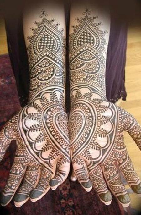Менди – украшение не только для индийских принцесс — фото 20