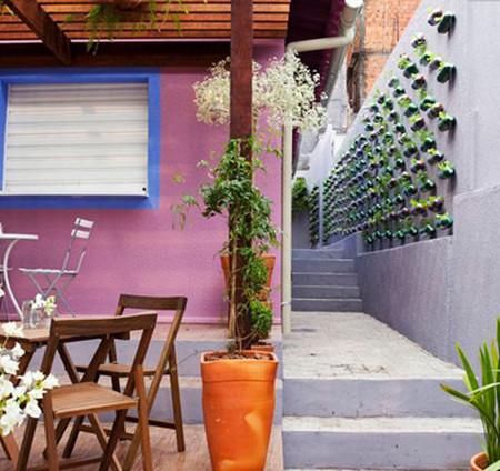 Вертикальные сады-огороды в бутылках — фото 3