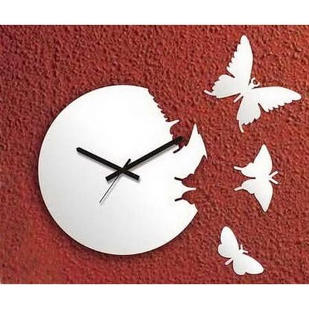 Что общего у времени и бабочек? Разгадка – в часах Butterfly clock — фото 13