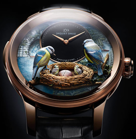 Jaquet Droz Bird Repeater — настоящее произведение искусства