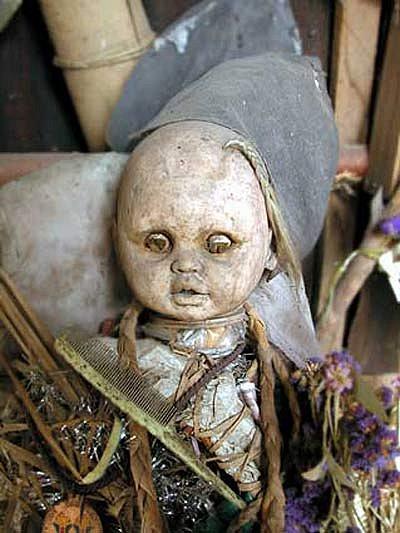 Остров кукол в Мексике – место не для детей — фото 18