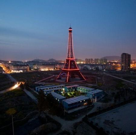 Что общего между Китаем и Парижем? Правильно, она самая ))