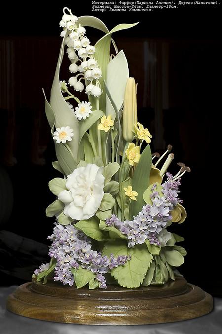 Фарфоровая красота – работы студии Людмилы Каминской — фото 9